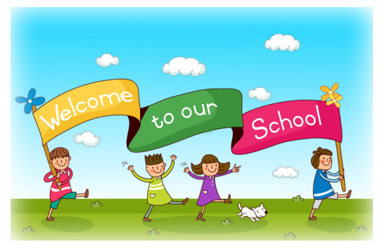 Image result for WELCOME TO OUR SCHOOL IMAGE CHILDREN RELATED